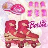 Busso 4 Tekerlekli Paten & Barbie Koruma Seti 31-34